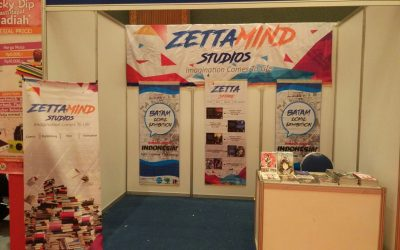 ZETTAMIND STUDIOS HADIR DI INDONESIA INTERNATIONAL BOOK FAIR 2017